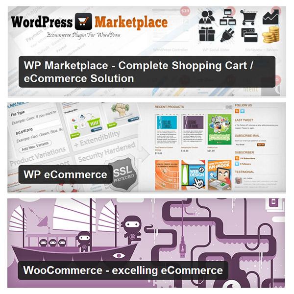 WordPress E-Commerce Plugins ตัวไหนชนะเลิศ