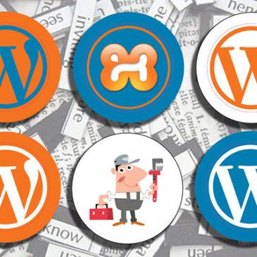 ปัญหาการติดตั้ง WordPress บน localhost (XAMPP)