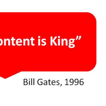 """Content is King"" จริงไหม อย่างไร แน่ใจหรือ"