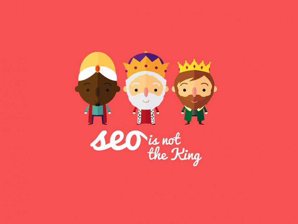 SEO ไม่ใช่ The King ของการทำเว็บไซต์