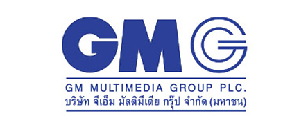 บริษัท จีเอ็ม มัลติมีเดีย กรุ๊ป จำกัด (มหาชน) GM Multimedia Group - Logo